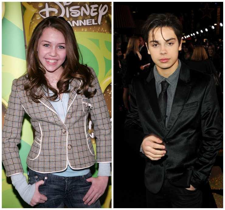 Miley Cyrus e Jake T.Austen