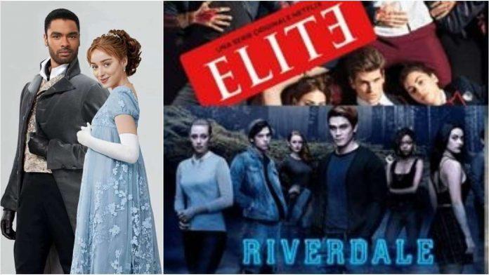 Bridgerton, Elite e Riverdale.