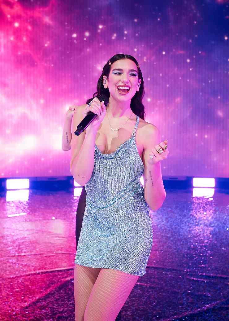Dua Lipa, cantante e attrice britannica - Fonte: Getty Images