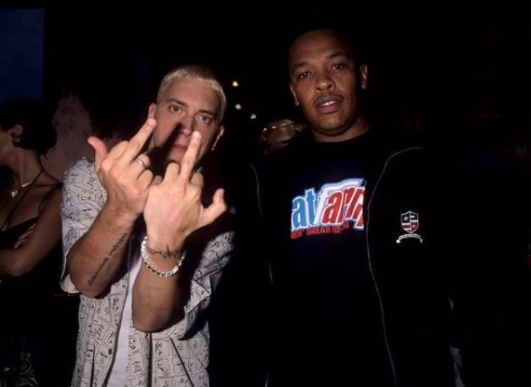 Eminem con Dr. Dre