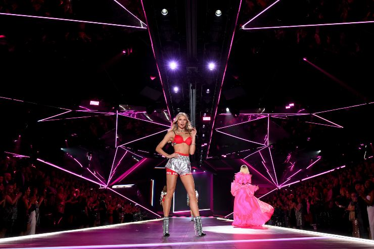 Josie Canseco al Victoria's secret fashion show - fonte Gettyimages