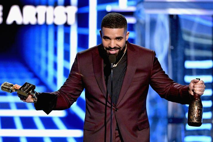 Drake a Las Vegas - fonte Gettyimages