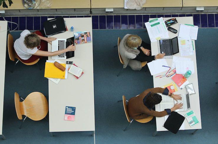 Studenti in una sessione di studio
