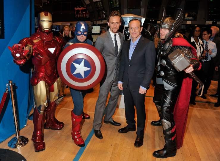 Capitan America e il cast - Fonte Gettyimages