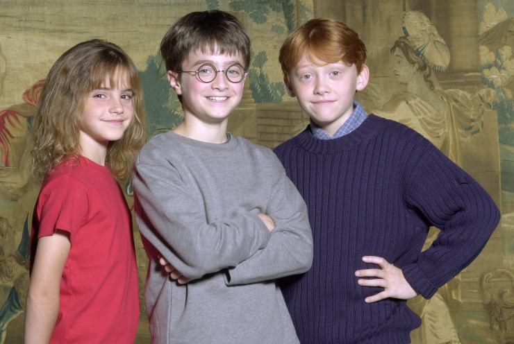 Il protagonisti di Harry Potter - fonte Gettyimages