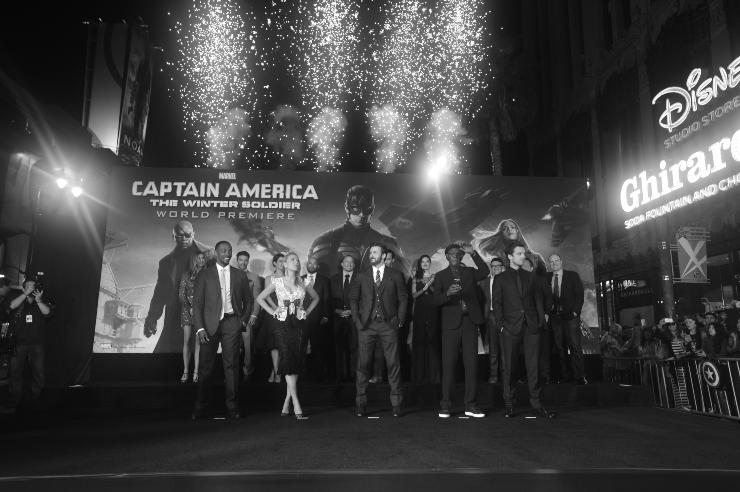Capitan America - fonte Gettyimages