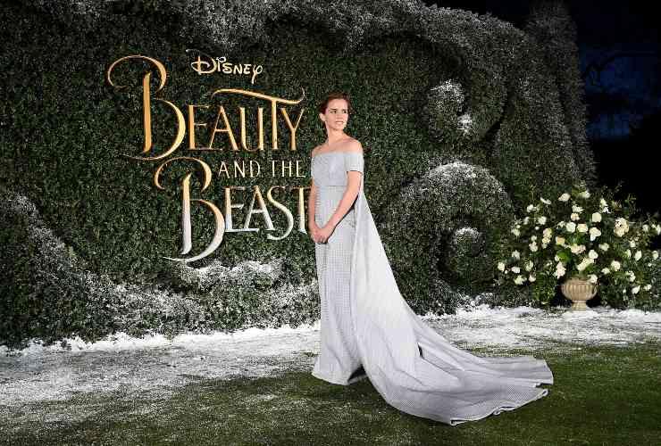 Emma Watson alla premier di La bella e la bestia - fonte Gettyimages