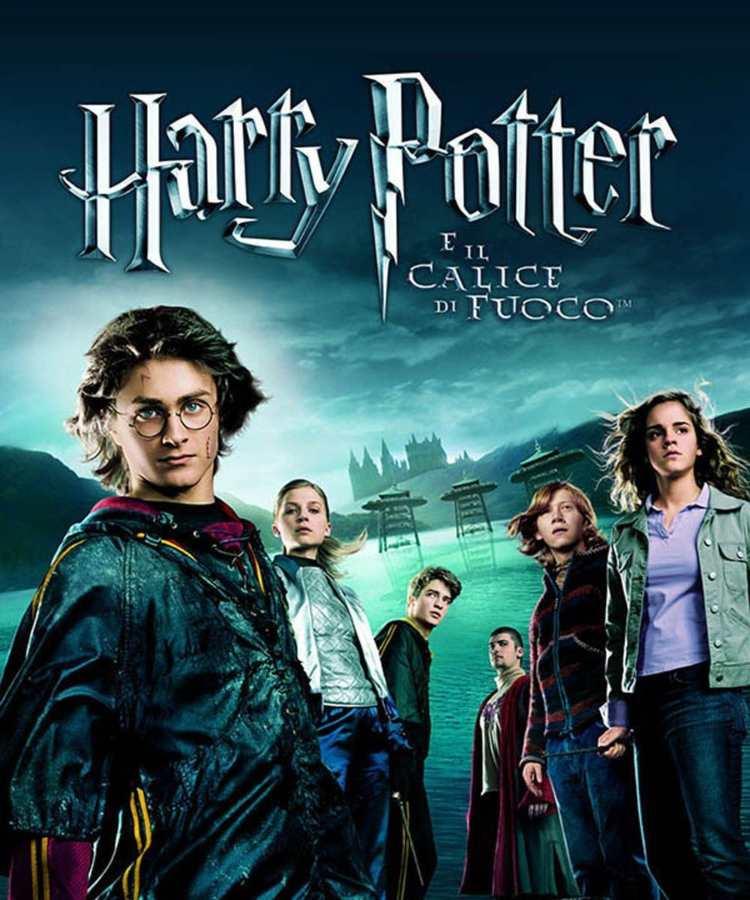 Harry Potter e il Calice di Fuoco, locandina ufficiale del film - Fonte: Instagram