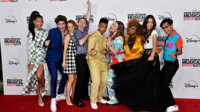 Il cast di High School Musical: The Musical:The series