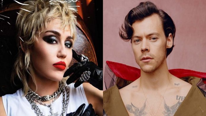 Miley Cyrus e Harry Styles