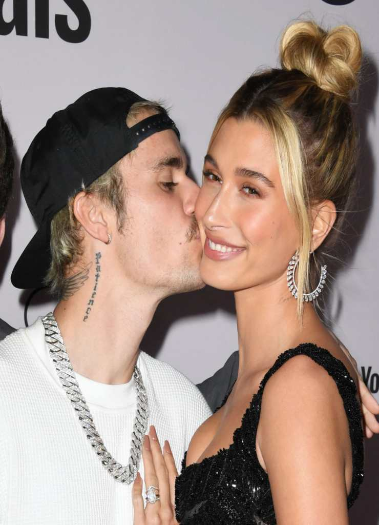 Justin Bieber e Hailey - Fonte: Getty Images