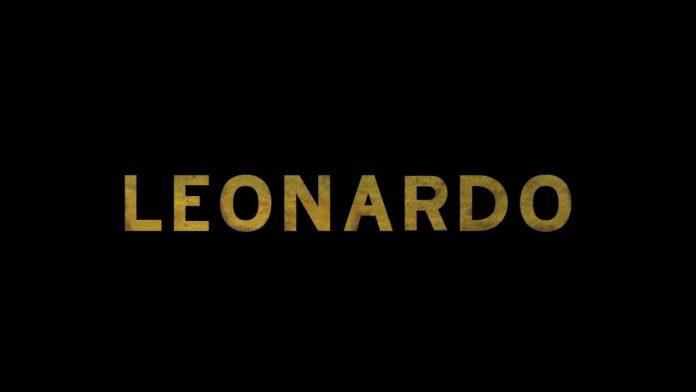 Leonardo, logo ufficiale della serie evento di Rai Uno - Fonte: Instagram