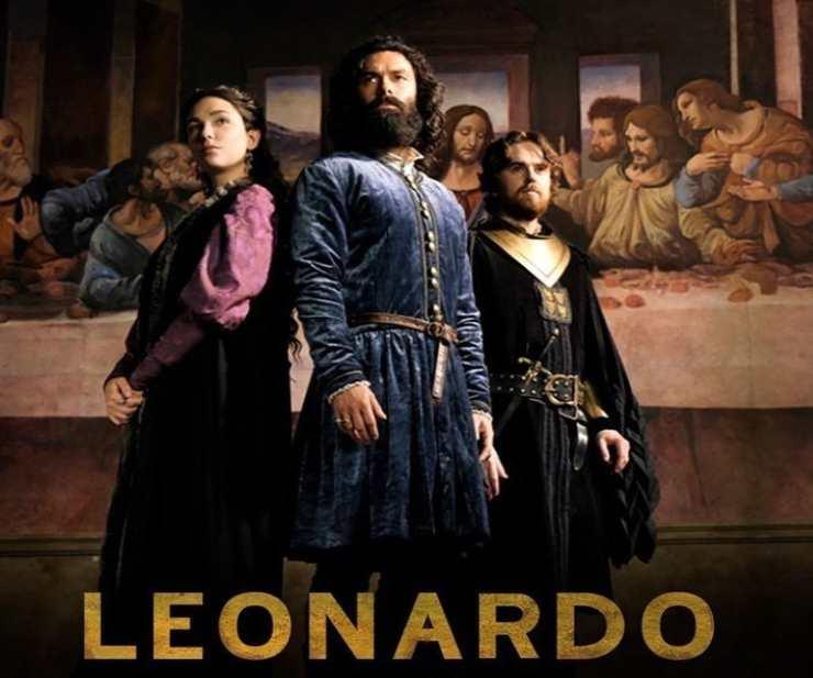 Leonardo, i personaggi - Fonte: Instagram
