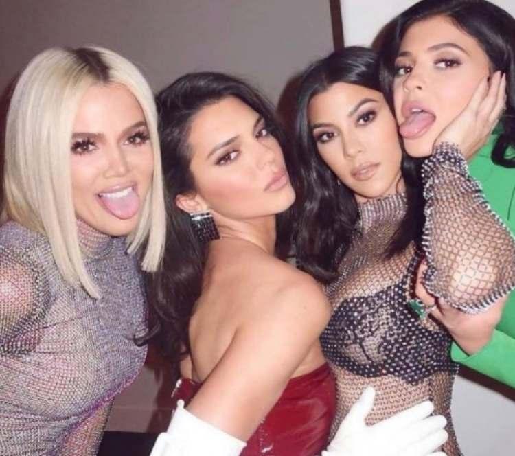 Kylie,Kendall Kardashian Jenner