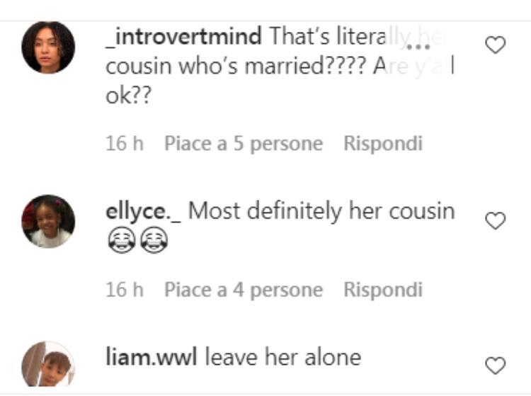 Commenti dei fan