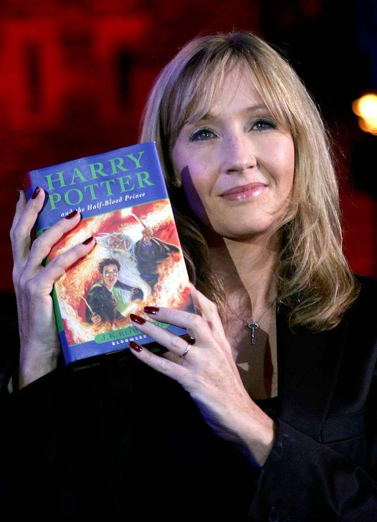 J. K. Rowling, scrittrice britannica e autrice di Harry Potter - Fonte: Getty Images