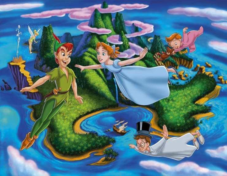 """""""Le avventure di Peter Pan"""", film Disney - Fonte: Instagram"""