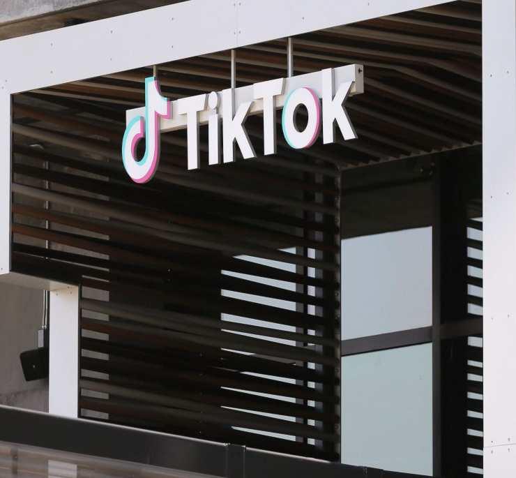 Logo TikTok - Fonte: Getty Images