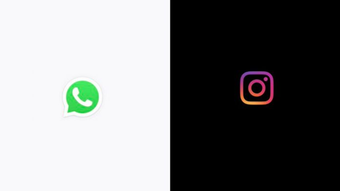 Whatsapp e Instagram down