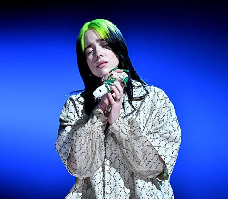 Billie Eilish, cantautrice statunitense - Fonte: Getty Images
