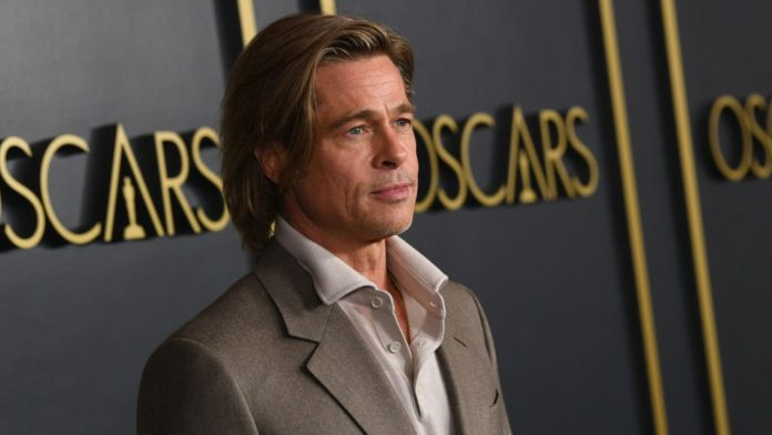 Brad Pitt, noto attore statunitense