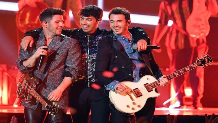 Jonas Brothers ai Billboard Music Awards, Fonte: Getty Images