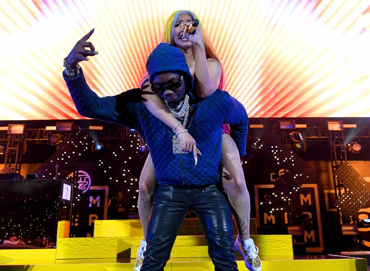 Cardi e Offset - fonte Gettyimages