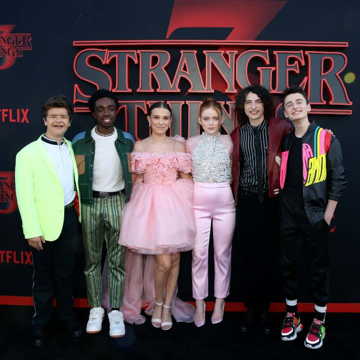 Strager Things cast - fonte Gettyimages