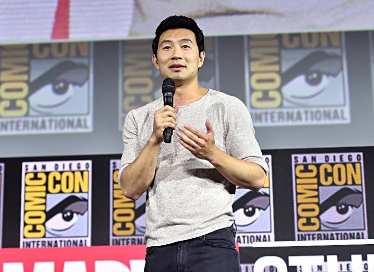 Simu Liu as Shang-Chi, Fonte: Getty Images