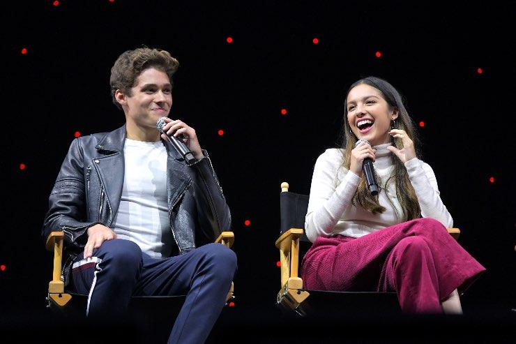 Olivia Rodrigo e Joshua Bassett, Fonte: Getty Images