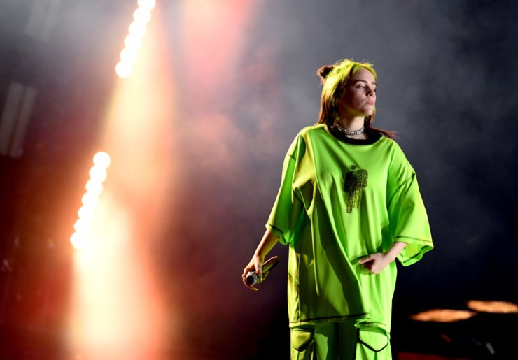 Billie Eilish giovane cantante americana - fonte Gettyimages