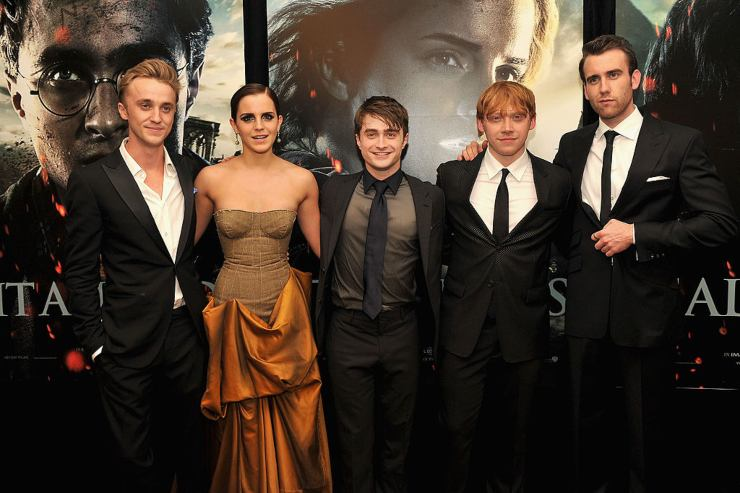 Cast di Harry Potter, premier di Harry Potter e i doni della morte - fonte Gettyimages