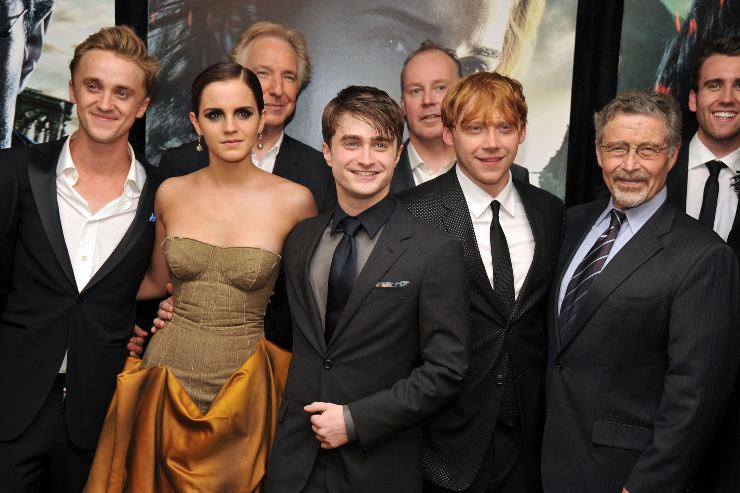 Cast di Harry Potter - fonte Gettyimages