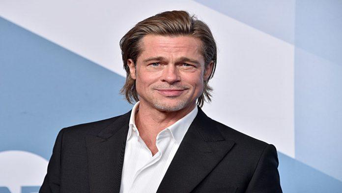 Brad Pitt attore