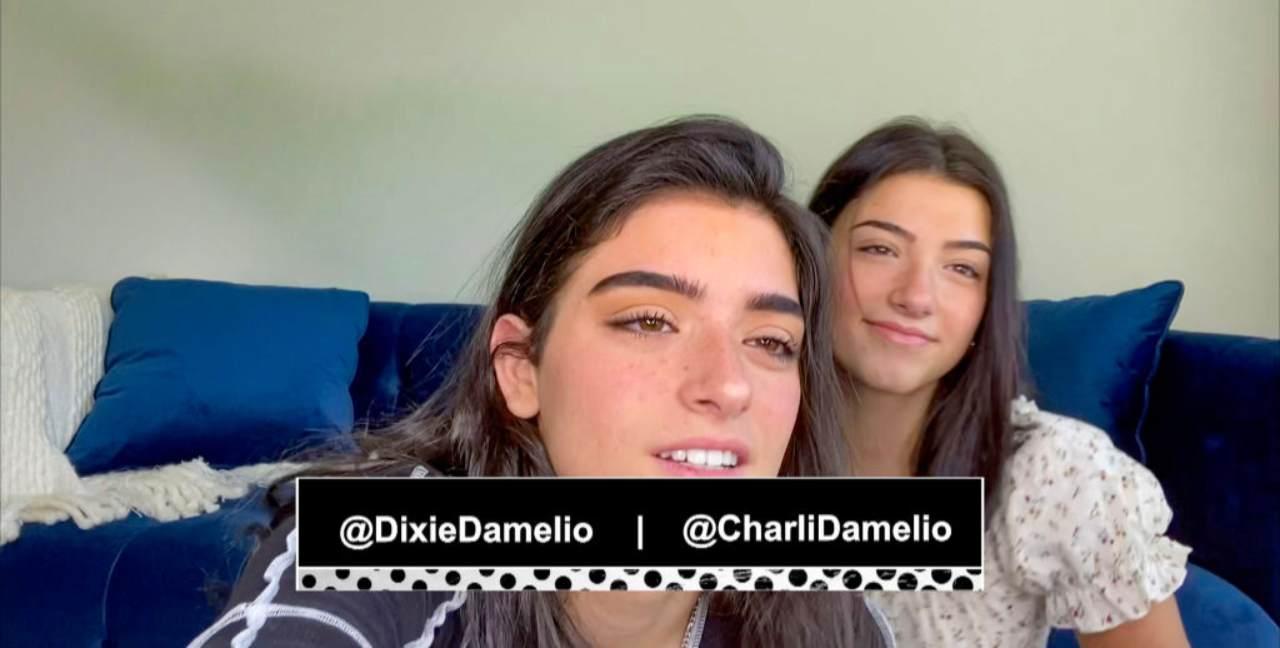 Dixie e Charli d'Amelio - fonte Instagram