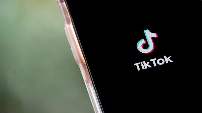 Tiktok logo. Fonte: Getty.
