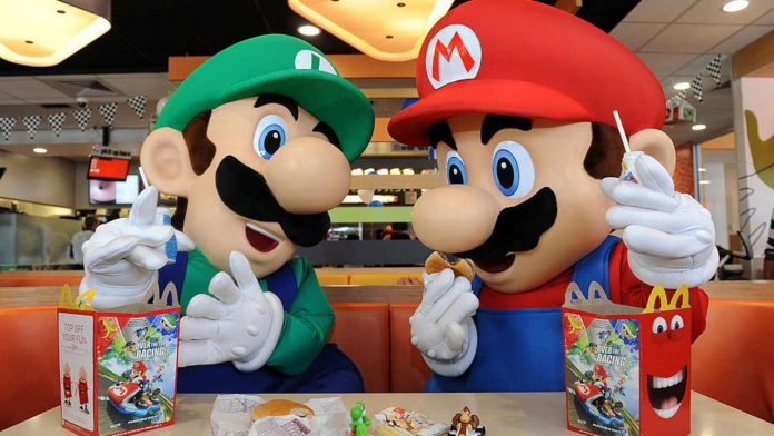 Mario e Luigi per McDonald's - fonte Gettyimages