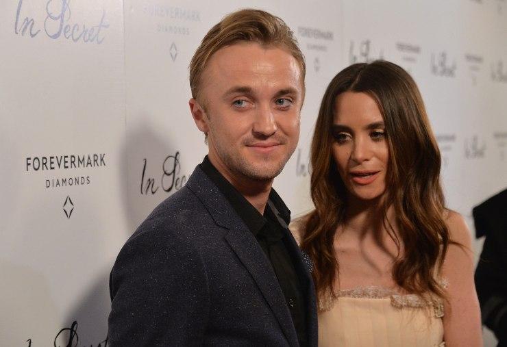 Tom Felton e Jade Gordon a Hollywood - fonte Gettyimages