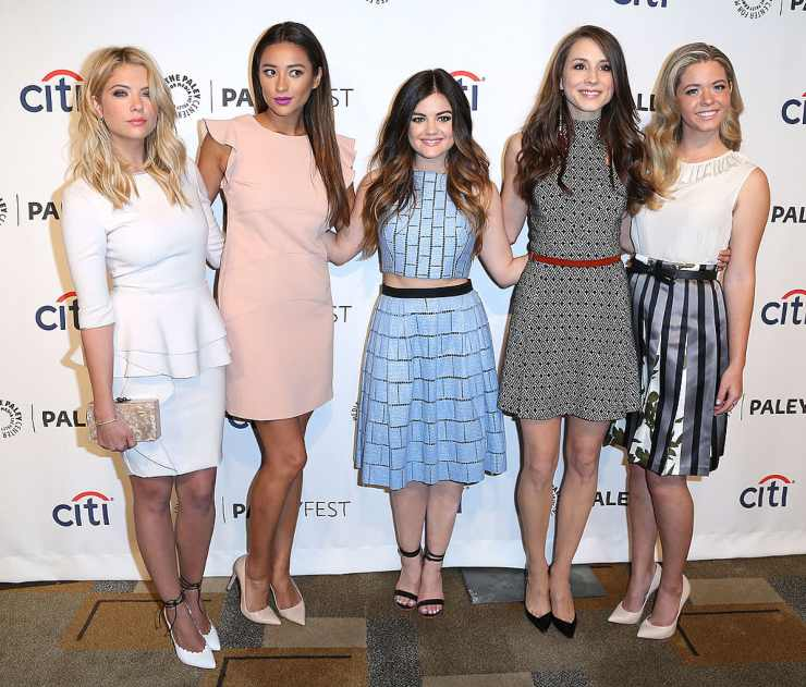 Pretty Little Liars protagoniste - fonte Gettyimages