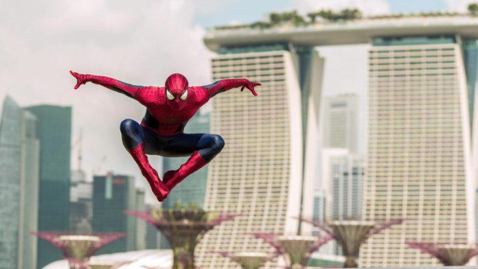 Spider-man. Fonte: Getty