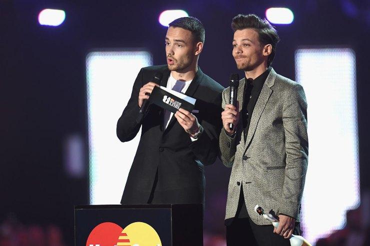 Louis Tomlinson e Liam Payne BRIT Awards - fonte Gettyimages