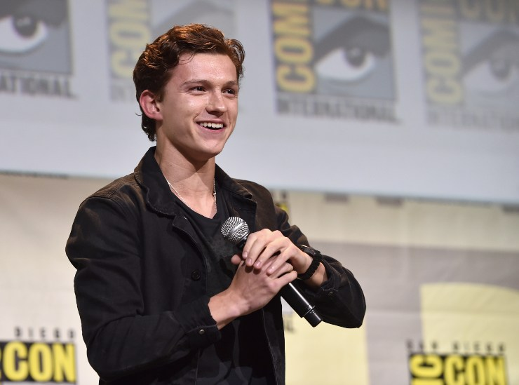 Tom Holland a San Diego - fonte Gettyimages