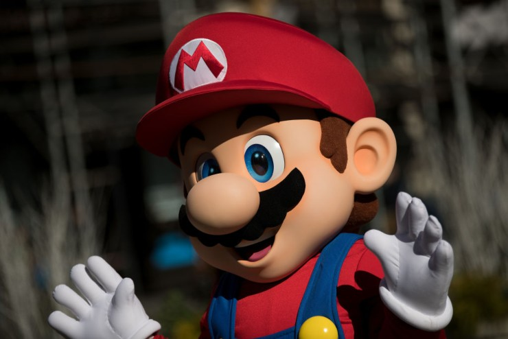 Mario Bross - fonte Gettyimages