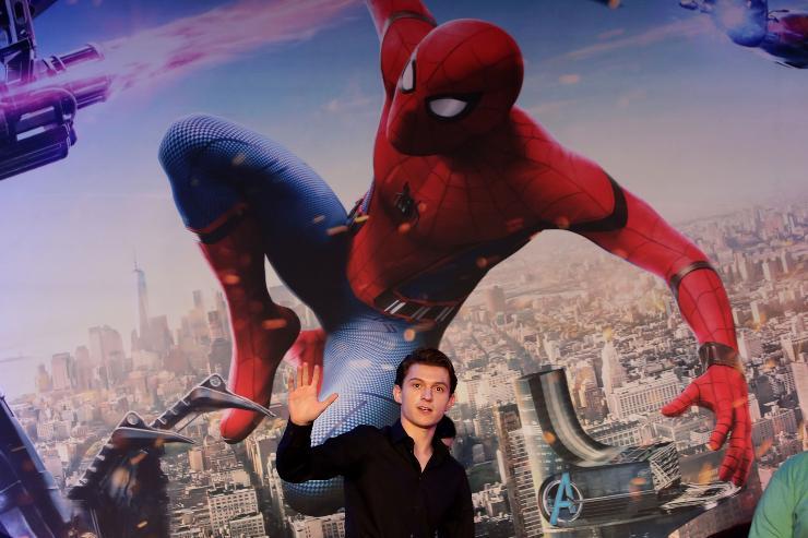 Spiderman Tom Holland alla premier di spiderman - fonte Gettyimages