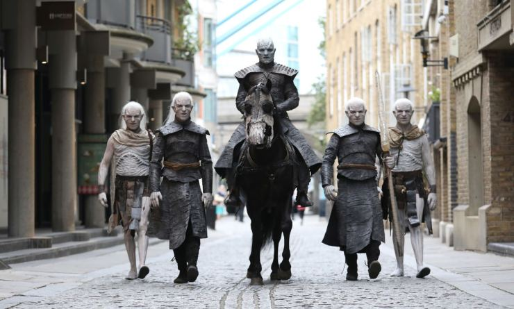Game of thrones White Walkers - fonte Gettyimages