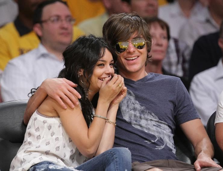 Zac Efron e Vanessa Hudgens nel 2009, Fonte: Getty Images