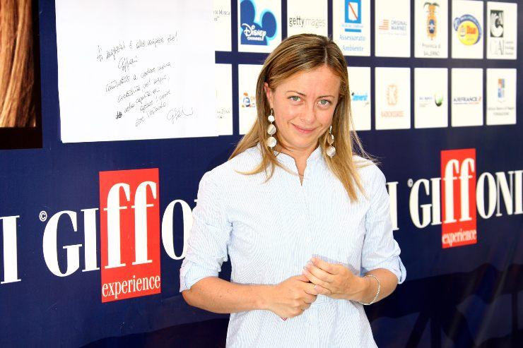 Giorgia Meloni Fratelli D'Italia. Fonte: Getty