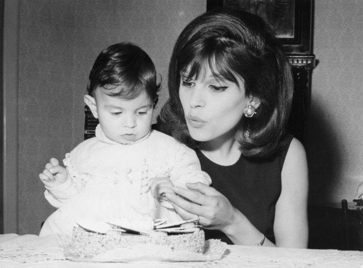 Milva e la figlia Martina - fonte Gettyimages