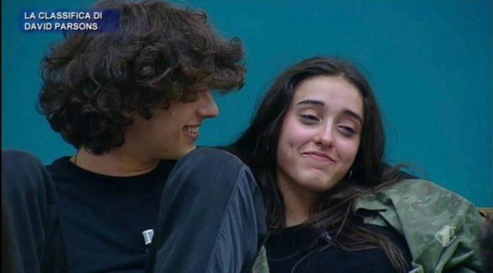 Il cantante San Giovanni e la ballerina Giulia Stabile, Amici20