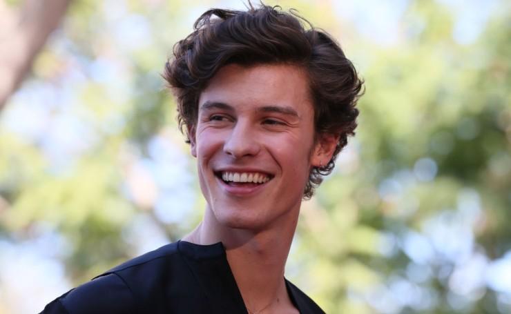 Il cantante Shawn Mendes.